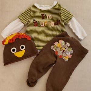 Koala kids turkey outfit